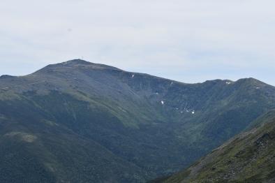 View of Mt. Washington and Mt.Jefferson