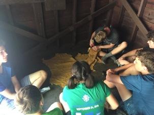 Making moccasins